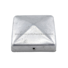 SHSPC-01: OEM Wholesale steel metal fence post caps