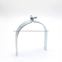6'' galvanized steel heavy duty strut pipe clamp