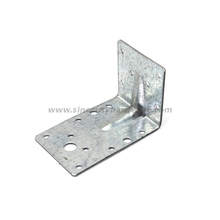 SH-8107-4560: Galvanized Steel L Shape Angle Bracket Timber Connector