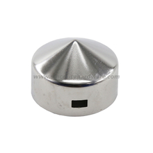 SHSSRPC-03: Stainless Steel Die Casting Round Fence Post Caps