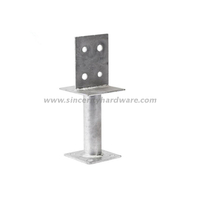 T Type HDG Fence Post Anchor