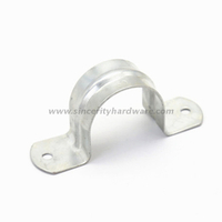 50mm Saddle Pipe Clamp Two Holes