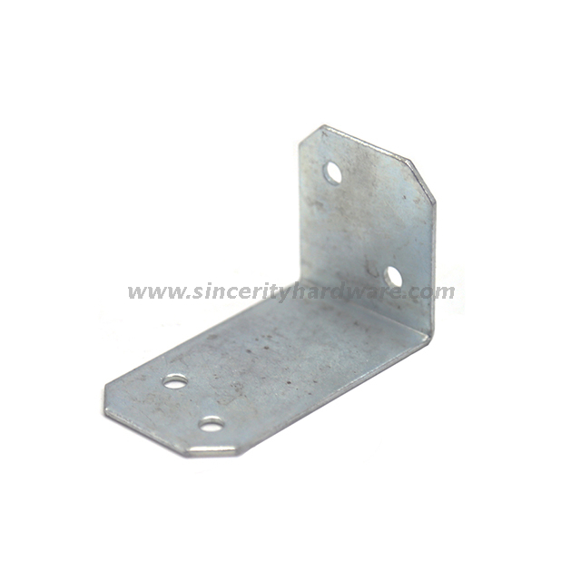 SH-8108-4070: Timber Connector Metal Steel Angle Bracket